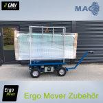 Glas Plattengestell für ERGO MOVER GO CARGO
