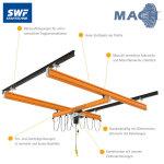 Stahl Leichtsystem 7 x 6 m, 500 kg