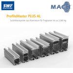 Aluminium Leichtsystem 7 x 6 m, 500 kg