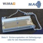 Sicherungsketten für Beta-H mit Befestigungssatz