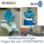 300 kg Saugplatte für WIMAG Gamma 640 x 275 mm