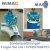 750 kg Saugplatte für WIMAG Gamma 650 x 650 mm mit Adapter