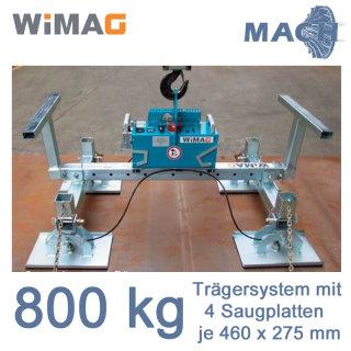 800 kg Trägersystem  für WIMAG Gamma