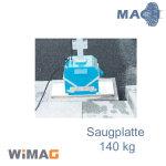 140 kg Saugplatte für WIMAG Turbo-M  600 x 330 mm