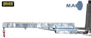 Lastarm 1000 kg, LA 1600-1,0 verzinkt