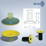 Hochtemperatursauger mit Spezialfilz bis 550°C