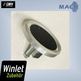 Stein-Saugplatte Ø 245mm für Winlet 400 CL, 400 TL, 575, 600
