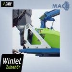 Manitou Schnellwechselsystem für Winlet 350 TH