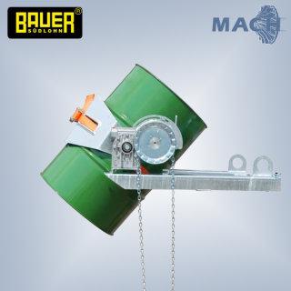 Fasskipper Flex mit Kette für Stapler und Kran