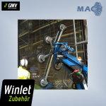 Zusatztraverse 1200 mm für Winlet 400 CL, 400 TL,...