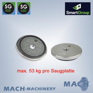 Stein-Saugplatte für SG, Ø 160mm