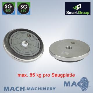 Stein-Saugplatte für SG, Ø 200mm